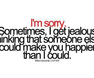 jealous, happy, and text image