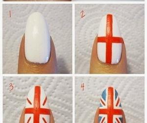 nails, british, and flag image