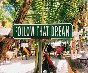 Dream, summer, and follow image