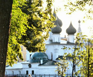 church, summer day, and yaroslavl image