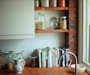 book and kitchen image