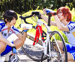 sports anime cosplay, best anime cosplay, and yowamushi pedal cosplay image
