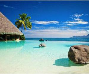 holiday, Island, and paradise image