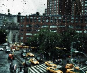 autumn, rainyday, and city image