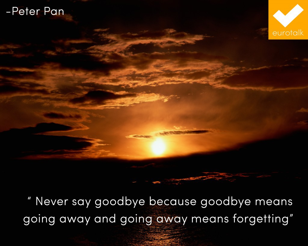 forgetting, inspiration, and goodbyes image