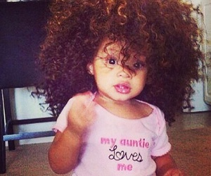 baby, hair, and curly image
