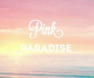 paradise, pink, and wallpaper image