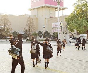 japan and school image