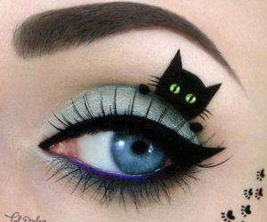 amazing, cat, and eye image