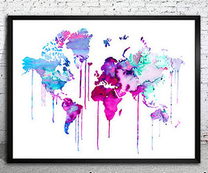 art, painting, and world image