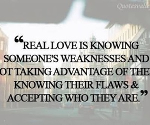love, quotes, and real love image