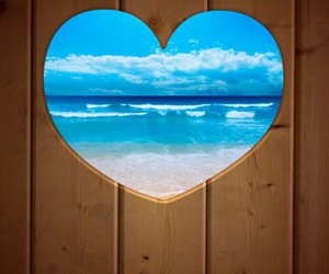 heart, background, and summer image