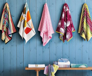 bathroom, colors, and decoration image