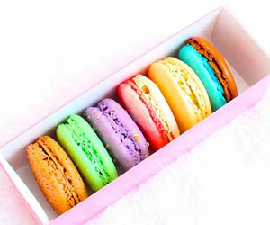 macaroons, summery, and sweet image