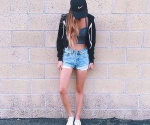 tumblr, girl, and outfit image