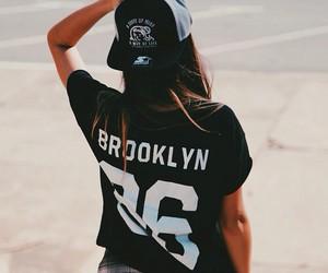 girl, fashion, and Brooklyn image