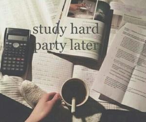 study, hard, and school image