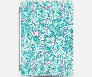 case, flowers, and pattern image