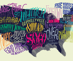 america and typography image