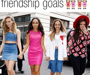 little mix, fashion, and friendship image