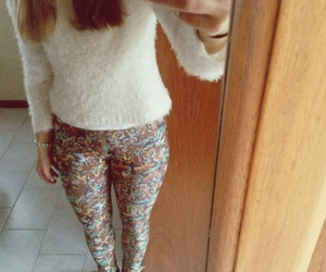 boots, leggins, and print image