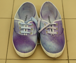 fashion, galaxy, and purple image