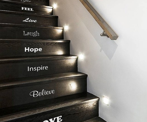 hope, stairs, and positivity image