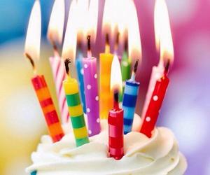 cake, cupcake, and happy birthday image