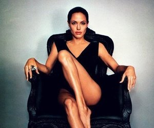 Angelina Jolie, brunette, and famous image
