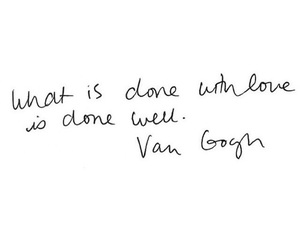 quotes, love, and van gogh image