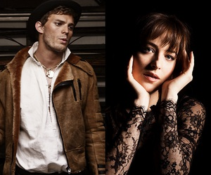 dakota, jamie, and fifty shades image