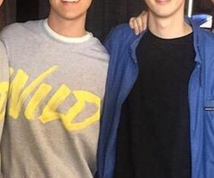 tronnor, troye sivan, and connor franta image