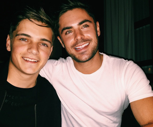 baby, handsome, and zac image