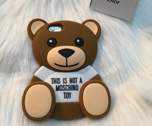 bear, Moschino, and toy image