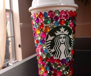 starbucks, coffee, and colorful image