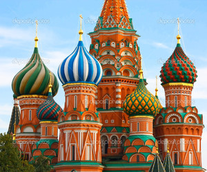 cathedral, color, and moscow image