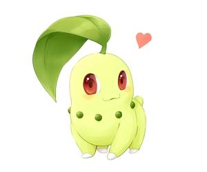 pokemon and chikorita image