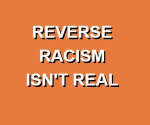 orange and racism image