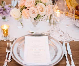 bouquet, decor, and table image
