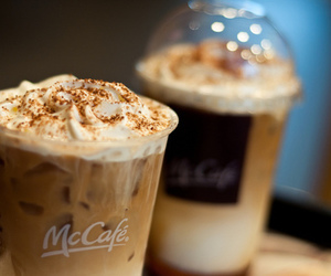 coffee, drink, and mccafe image
