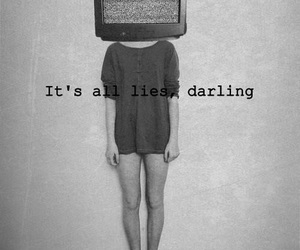 lies, darling, and tv image