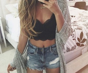 blonde, body, and outfit image