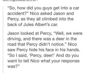 OMG, percyjackson, and theseven image