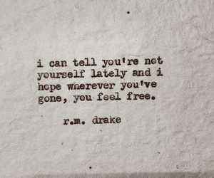 quote, free, and r.m. drake image