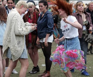 festival, florence + the machine, and florence welch image