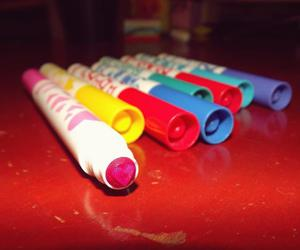 markers and love image