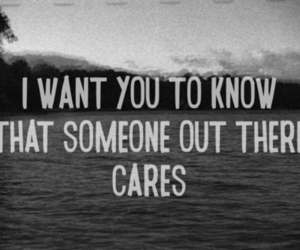 care, quote, and text image