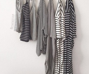 fashion, stripes, and clothes image