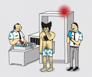 funny, wolverine, and funny images image