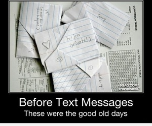 text, letters, and notes image